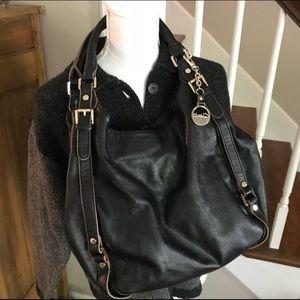 Clarks black shoulder bag